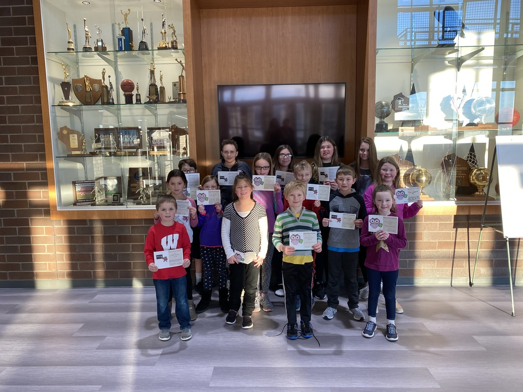 Jan & Feb Mathwise Awards