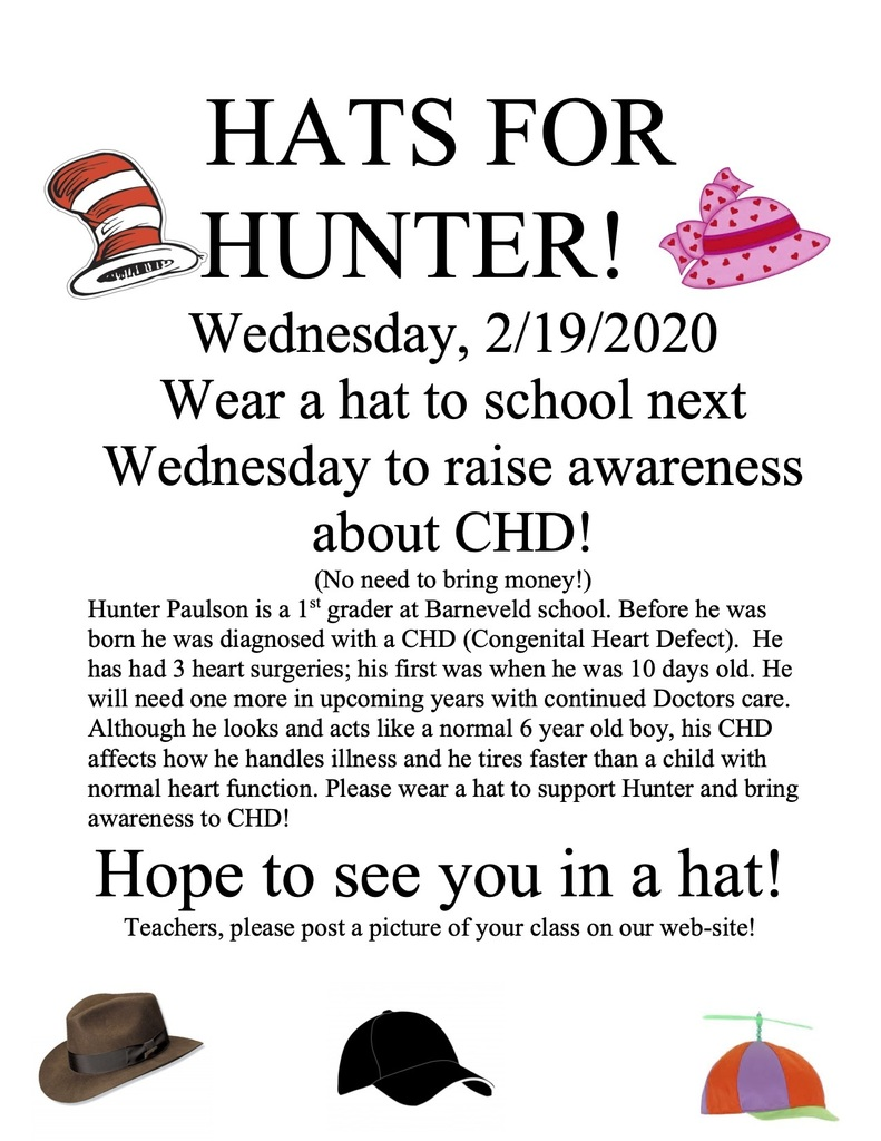 Hats for Hunter